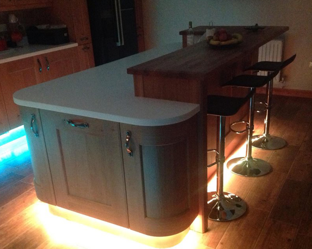 Plinth Lighting For Kitchens Lighting Your Kitchen T And S Bespoke Kitchens Lighting